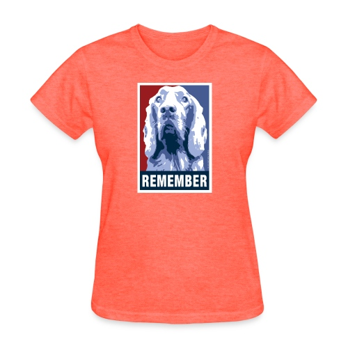 Official DAR Special Edition REMEMBER Blue - Women's T-Shirt