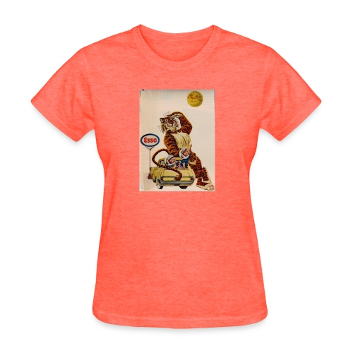 48d538beb72153486dfd2e84c5050151 stuffed tiger ol - Women's T-Shirt