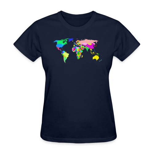 the world tshirt - Women's T-Shirt