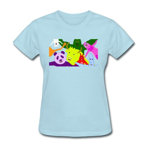 animals tshirt 1 - Women's T-Shirt
