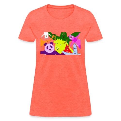 animals tshirt 1 - Women's T-Shirt