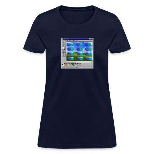 Desire windows xp paint edition - Women's T-Shirt