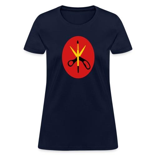 ssisors and brush 3col - Women's T-Shirt
