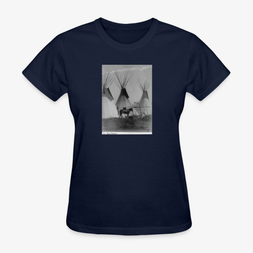 The Three Teepees - Women's T-Shirt
