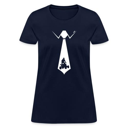 ATV Quad Fathers Day Tie - Women's T-Shirt