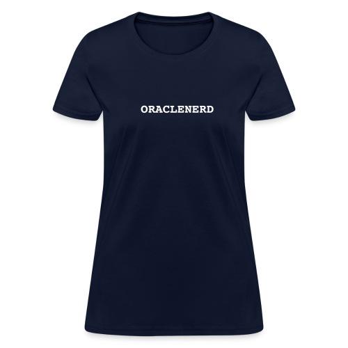 ORACLENERD - Women's T-Shirt