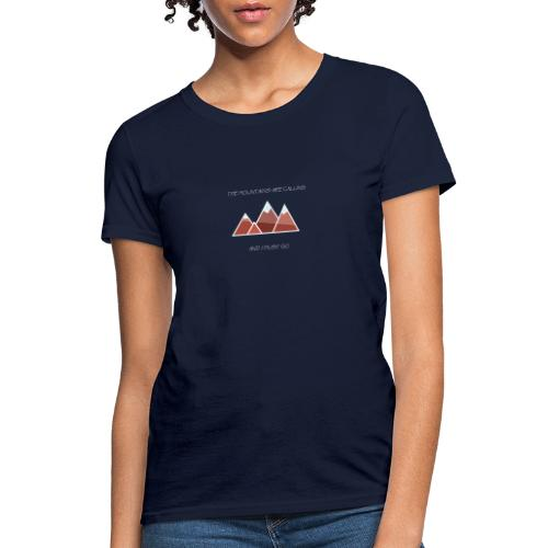 The Mountains - Inverted - Women's T-Shirt