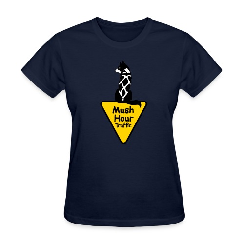mush hour traffic sign - Women's T-Shirt
