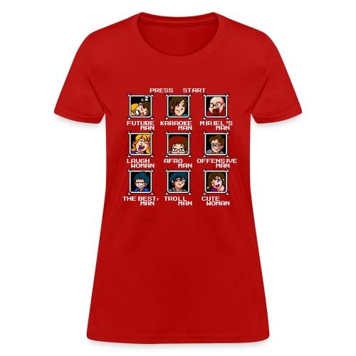 advideogame tshirt png - Women's T-Shirt
