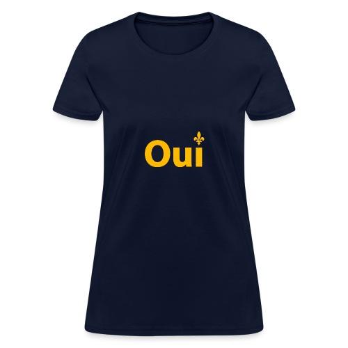 OUI Québec - T-shirt pour femmes