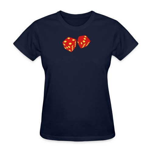 golden dice - Women's T-Shirt