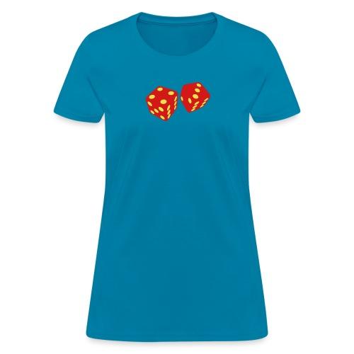 golden dice - Women's T-Shirt
