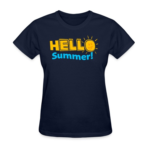 Kreative In Kinder Hello Summer! - Women's T-Shirt