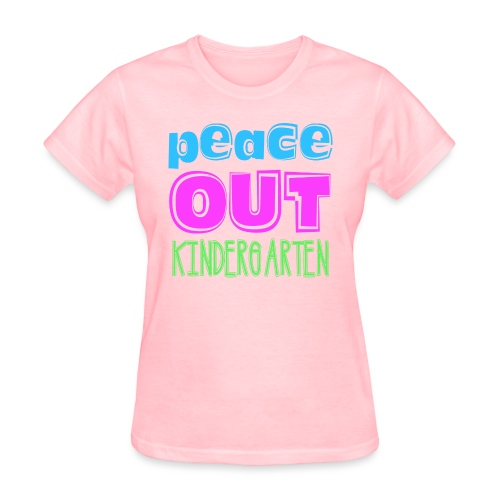 Kreative In Kinder Peace Out - Women's T-Shirt