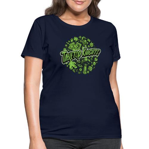 Green Over The Top TTK - Women's T-Shirt