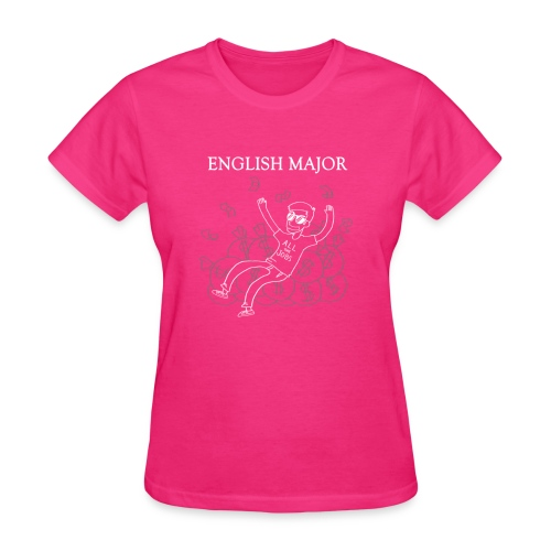 English Major - Women's T-Shirt