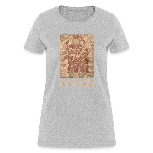 Boston Stronger with Odin - Women's T-Shirt