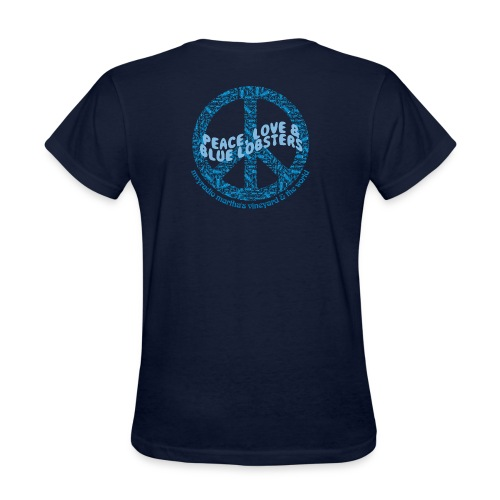 peaceloveandbluelobsters - Women's T-Shirt