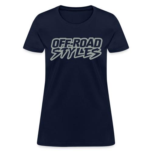Dirt Bike Throttle Out T-Shirts - Women's T-Shirt