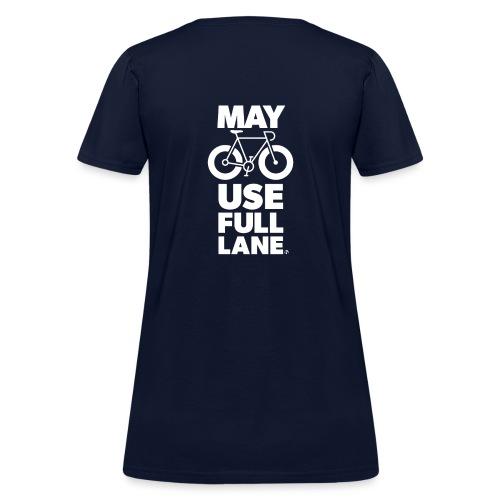 May use full lane large - Women's T-Shirt