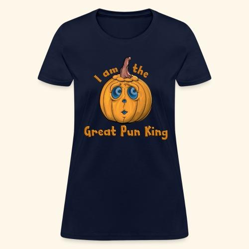 The Great Pun King - Women's T-Shirt