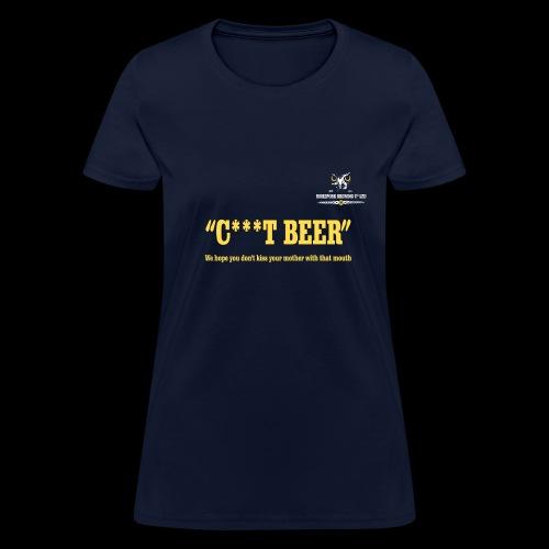 Morepork Brewing Craft Beer Logo - Women's T-Shirt