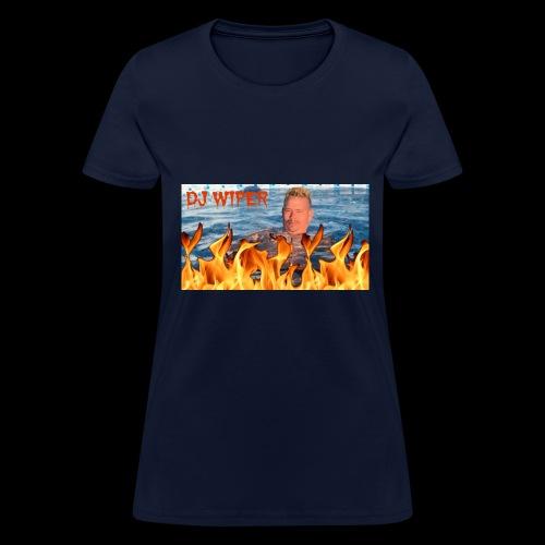 Wiper Pool Flamez - Women's T-Shirt