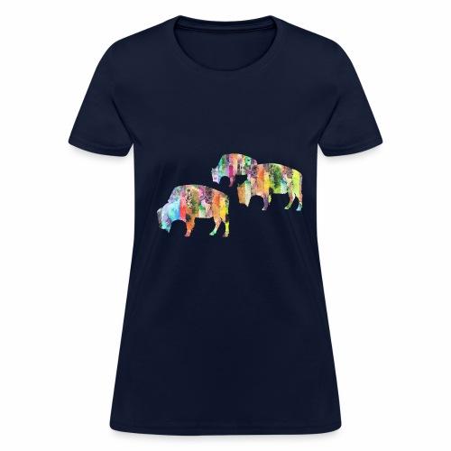 Bison - Women's T-Shirt