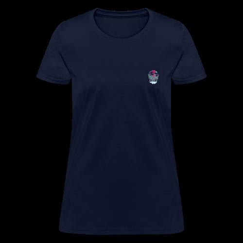 Flower skull - Women's T-Shirt