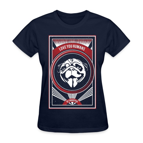 Cool Pug - Women's T-Shirt