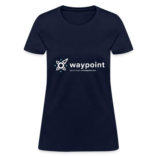 Waypoint Logo (Light Version) - Women's T-Shirt