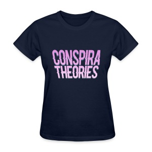 Women's - ConspiraTheories Official T-Shirt - Women's T-Shirt