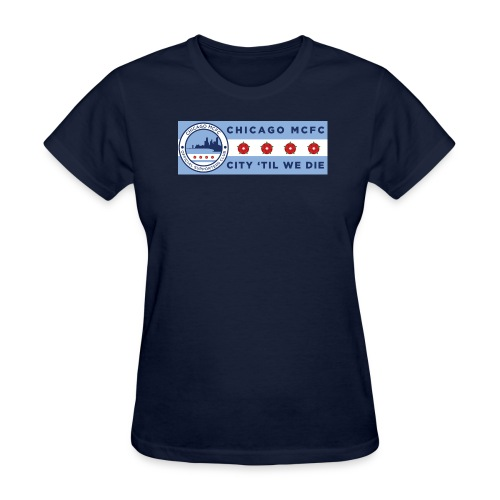 Chicago MCFC Stadium Banner - Women's T-Shirt