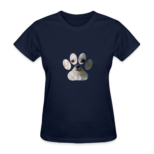 morkie paw t-shirt - Women's T-Shirt
