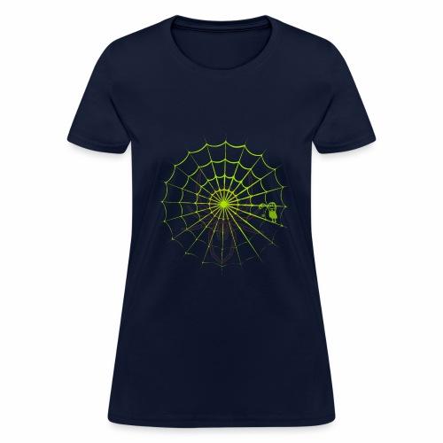 Halloween spider net - Women's T-Shirt