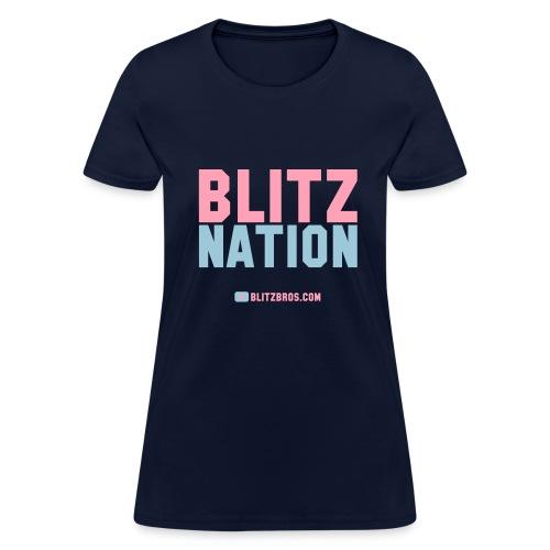 BLITZ NATION ... Ladies - Women's T-Shirt