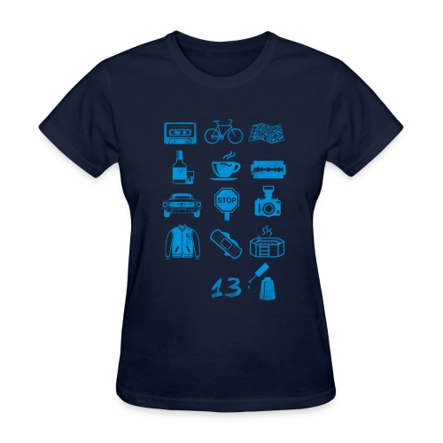 13 (Icons) Reasons Why - Women's T-Shirt