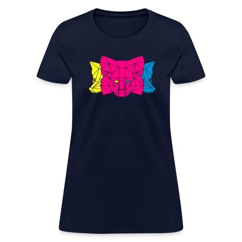 MetaMask Multi Colored Triple Head - Women's T-Shirt
