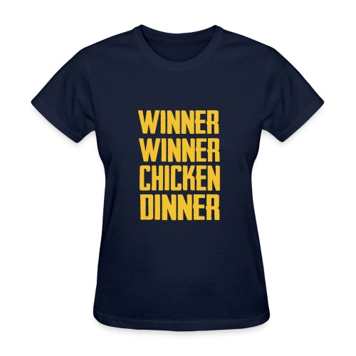PUBG Chicken Dinner - Women's T-Shirt