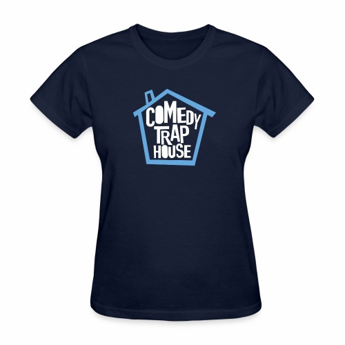 Comedy Trap House (Blue) - Women's T-Shirt