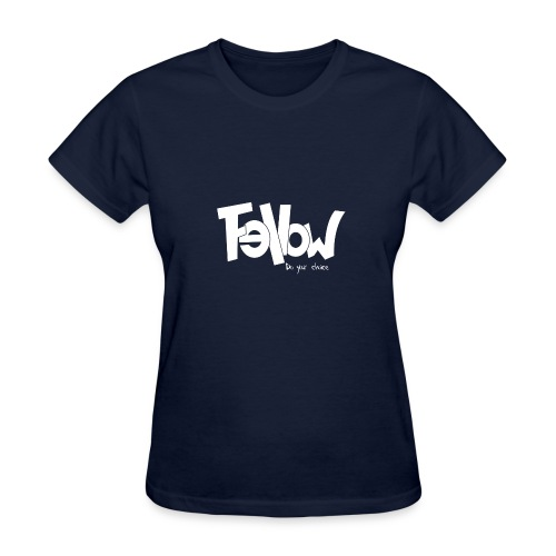 Design 02 Sur du noir - Women's T-Shirt