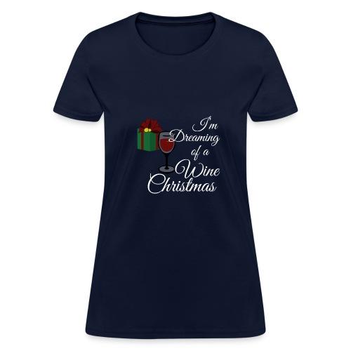 wine christmas - Women's T-Shirt