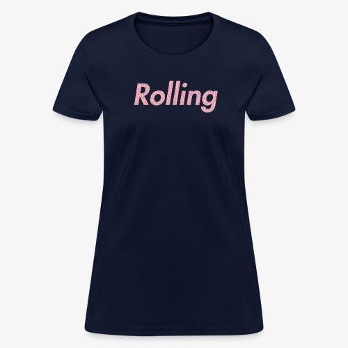 Rolling Donuts - Women's T-Shirt
