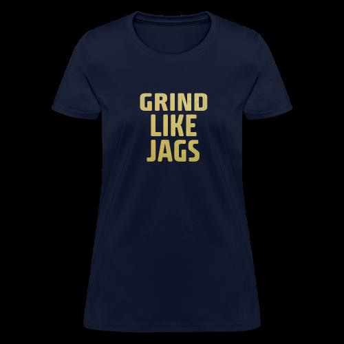 GrindLike Jags Logo - Women's T-Shirt