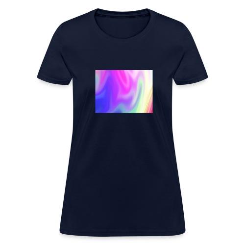 pretty rainbow tee - Women's T-Shirt