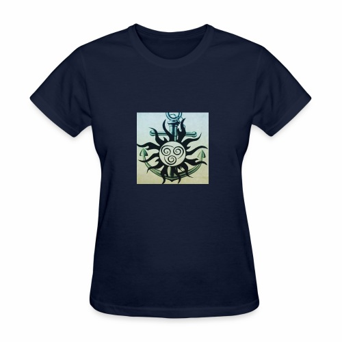 Sun and anchor - Women's T-Shirt