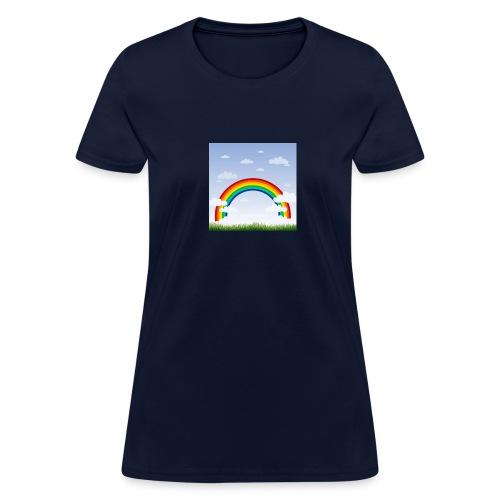 Sky Rainbow - Women's T-Shirt