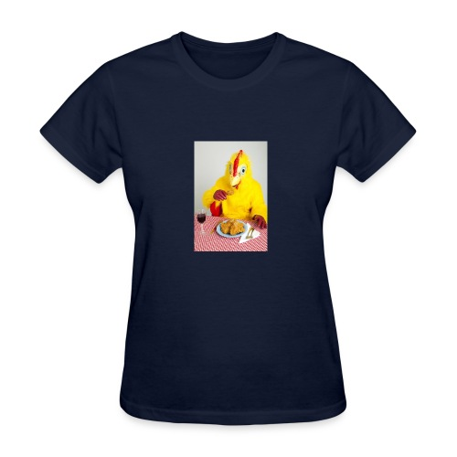 Canibalism chiken - Women's T-Shirt