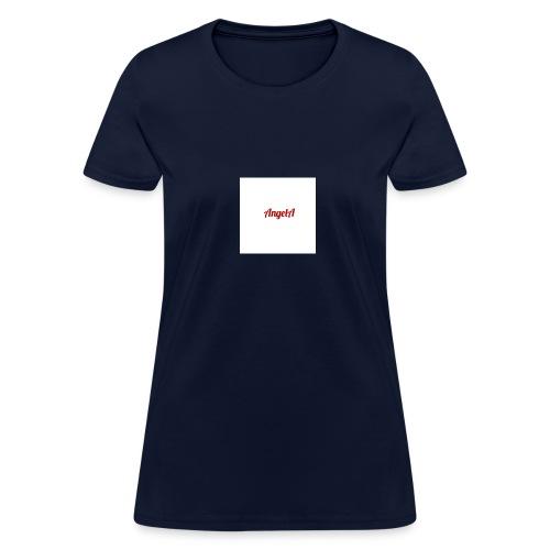 withe A - Women's T-Shirt