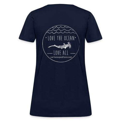 Love The Ocean, Love All - Women's T-Shirt
